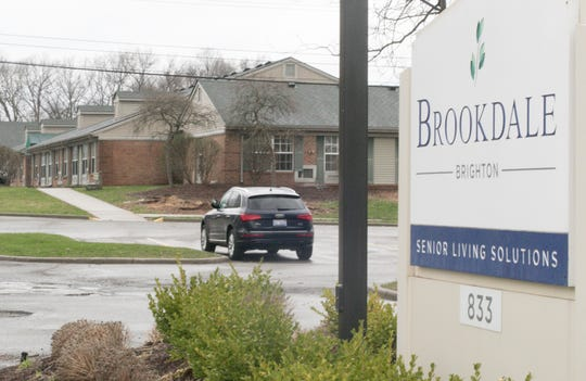 Brookdale of Brighton, a senior living facility, shown Thursday, April 18, 2019, is facing a general negligence lawsuit.