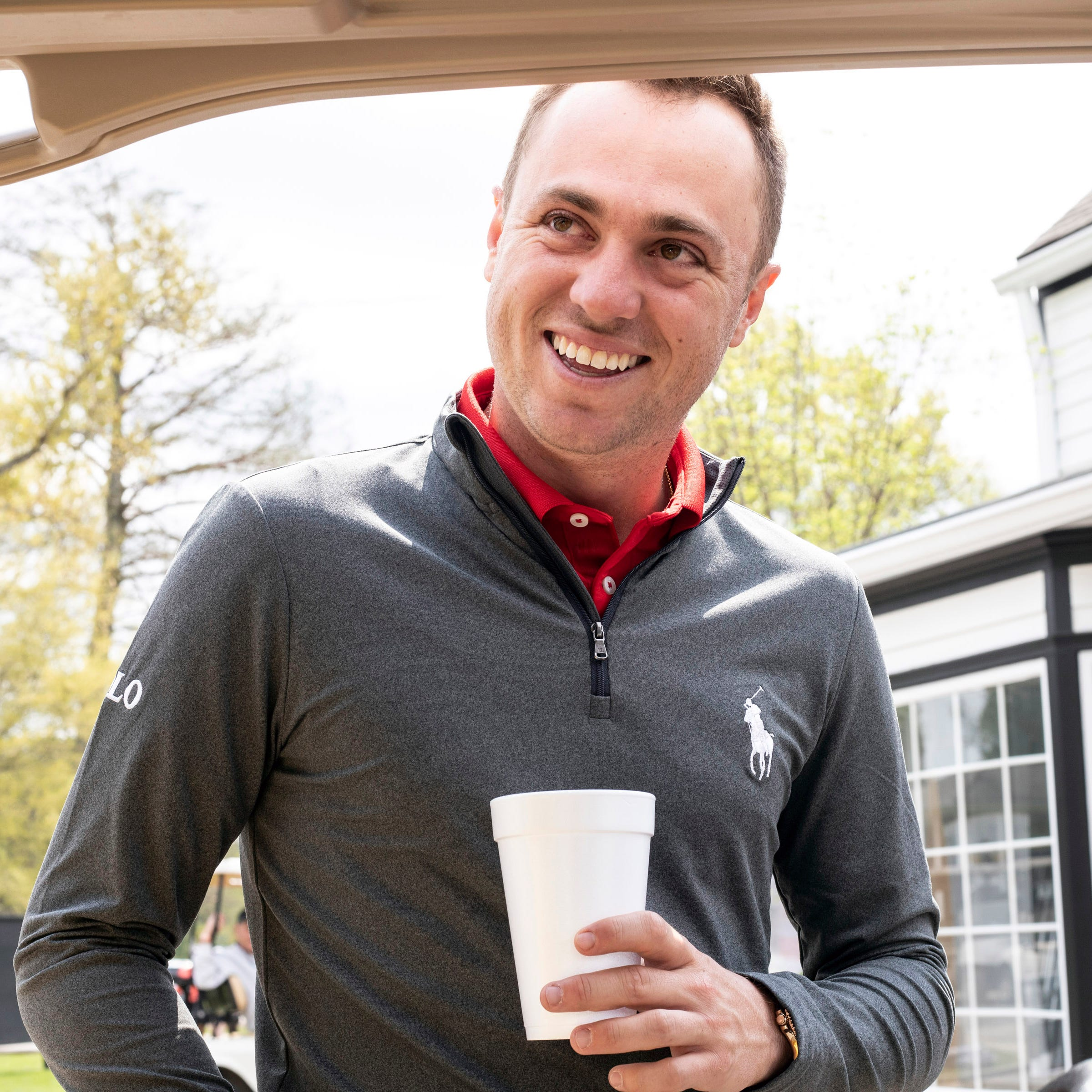 Justin Thomas comes home for a junior golf tournament where he got his start