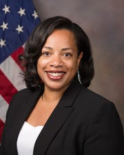 Njema Frazier is a nuclear physicist for the Department of Energy.