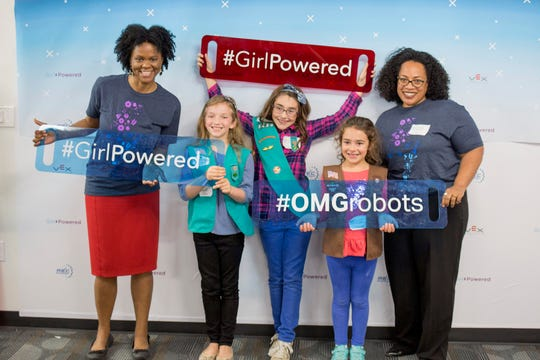 Girl Powered Flagship Event in Dallas, Texas, in 2017