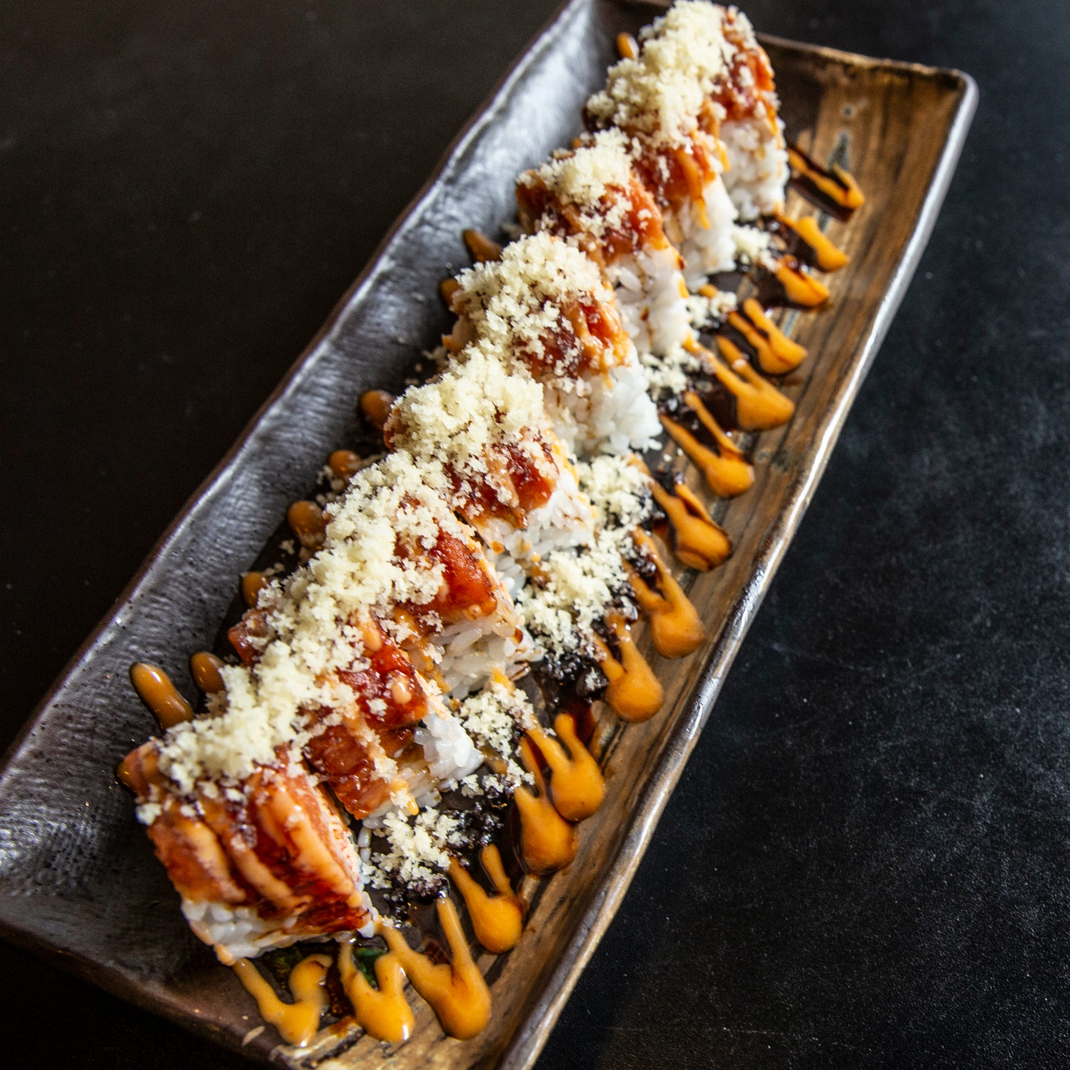 Prospect sushi bar may over accessorize its rolls but it doesn't sacrifice taste
