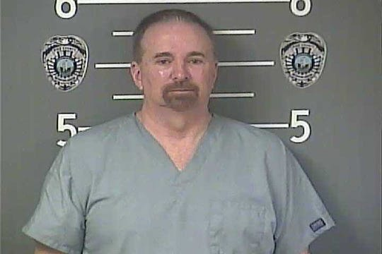 """Eastern Kentucky dentist Dr. Denver """"Dicky"""" Tackett is charged with healthcare fraud, including needlessly pulling teeth. (Pike County Detention Center)"""