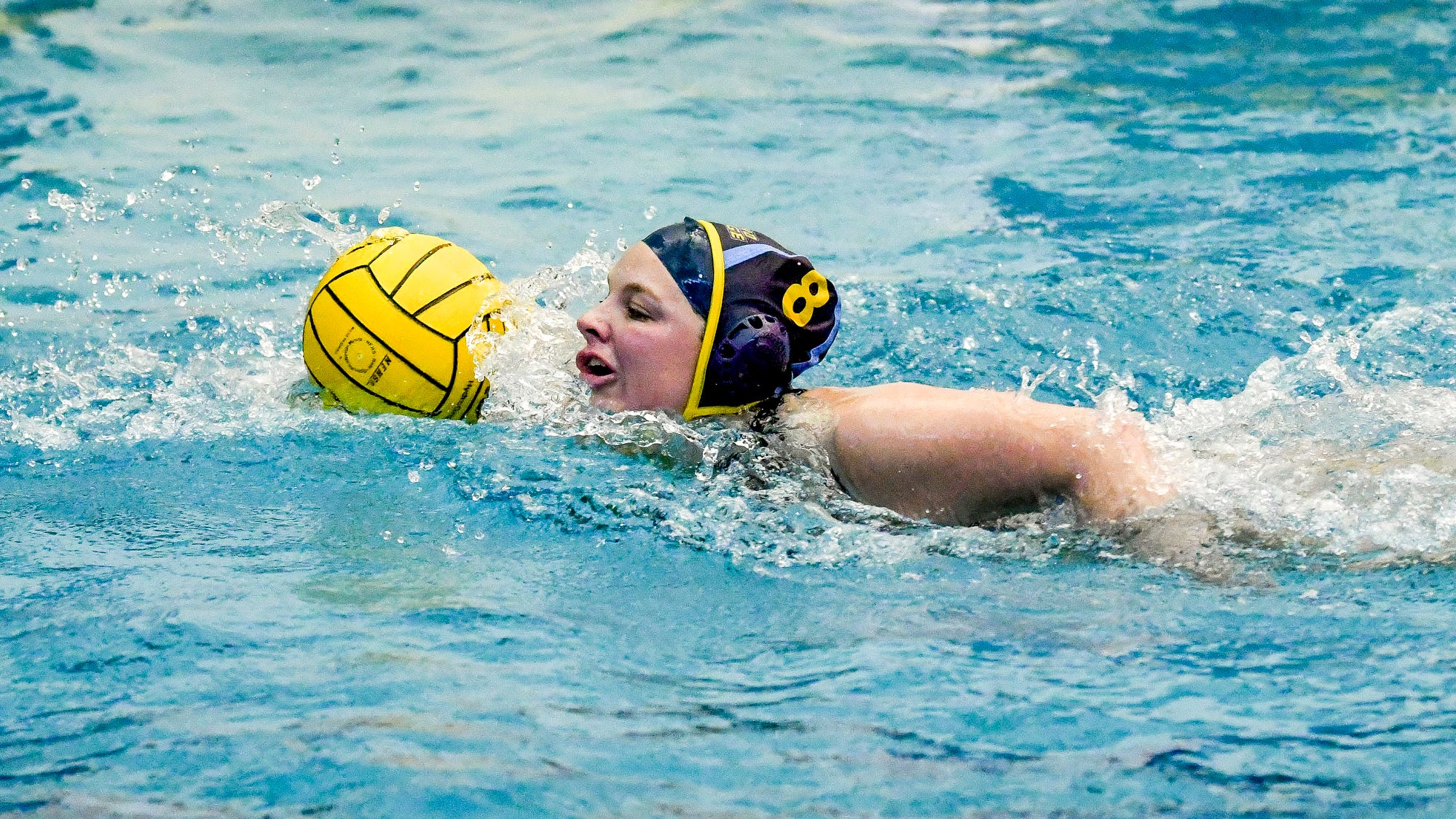 Grand Ledge girls water polo has eyes on state title run after win over Okemos
