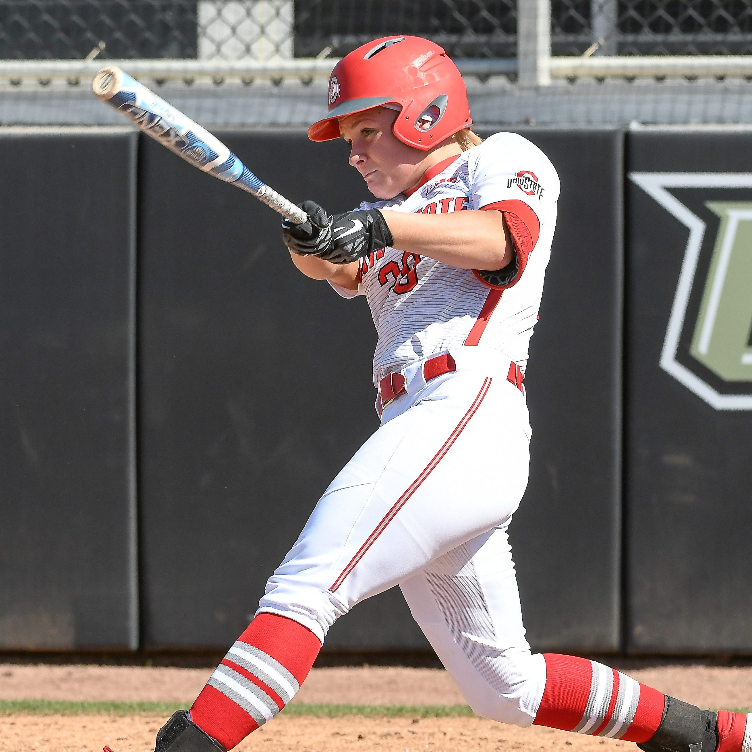 College softball players getting it done on big stages