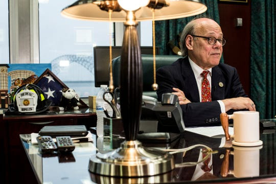 U.S. Rep. Steve Cohen talks with media about the Mueller Report while in his office on April 18. Cohen, who serves on the House Judiciary Committee, has been a strident critic of President Trump.