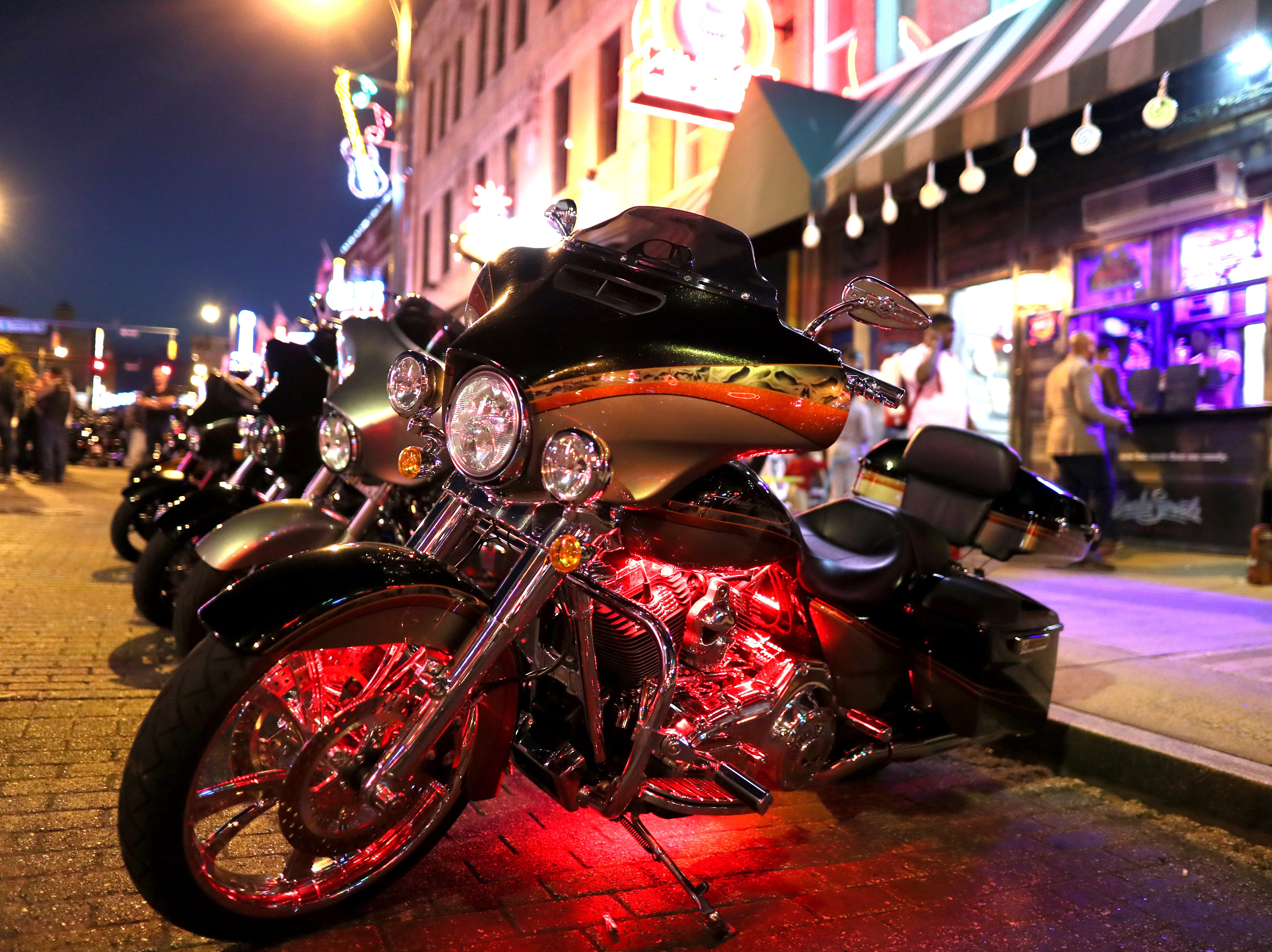 Bike Night on Beale Street kicks off for the season on Wednesday, April 17, 2019.