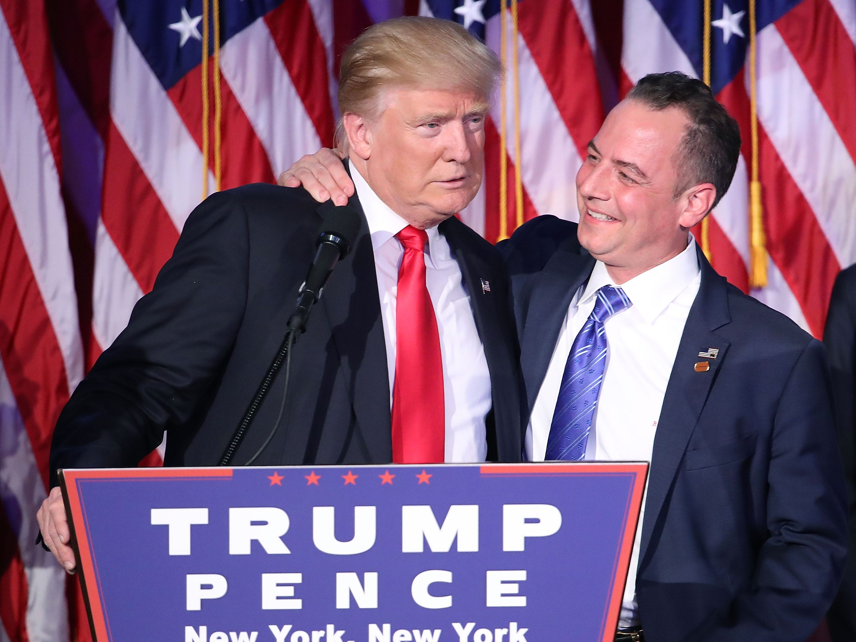 President-elect Donald Trump has chosen Reince Priebus to be his White House chief of staff.