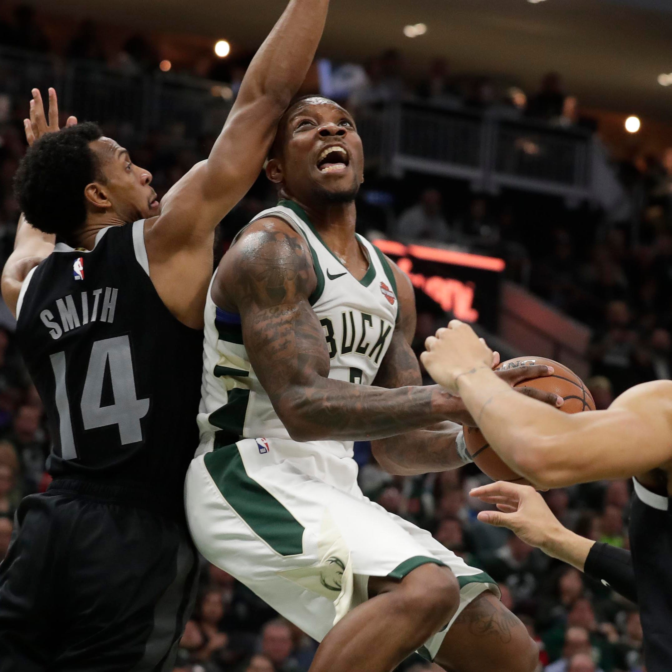 Bucks 120, Pistons 99: What a difference a year makes – one year to the day – for Eric Bledsoe