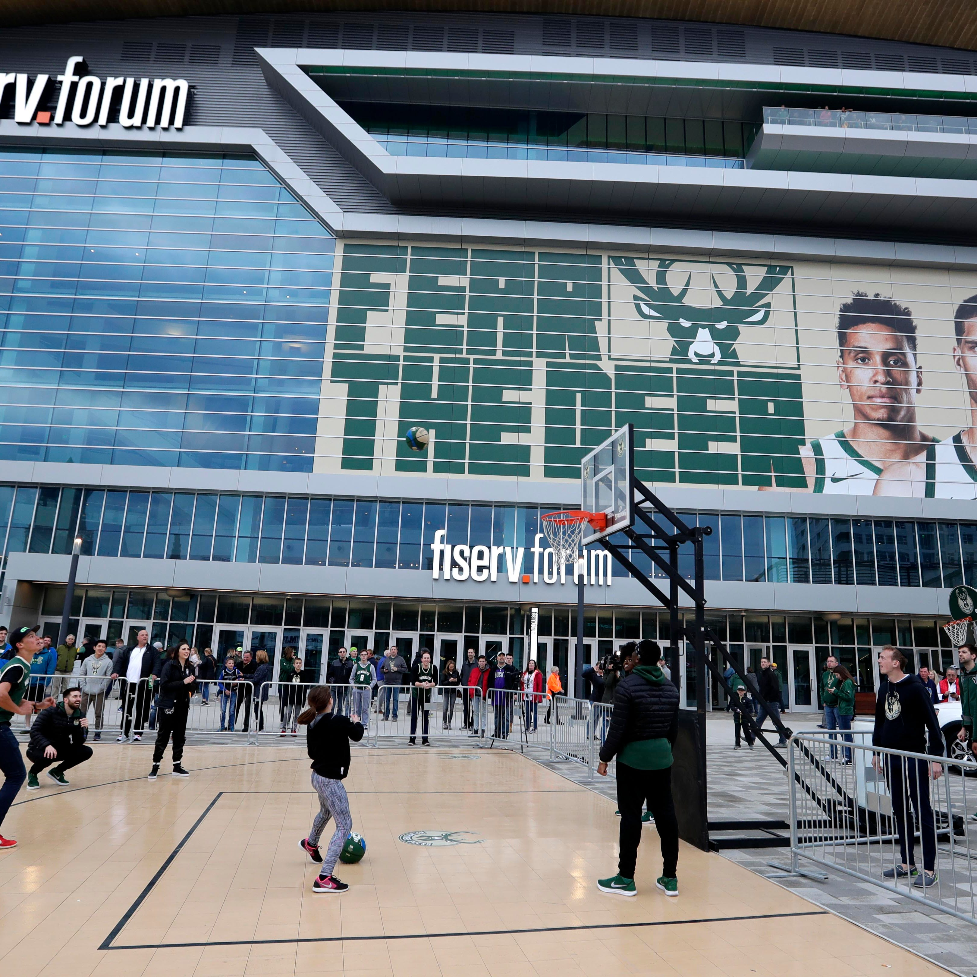 Milwaukee Bucks will open second round of playoffs at noon Sunday at Fiserv Forum
