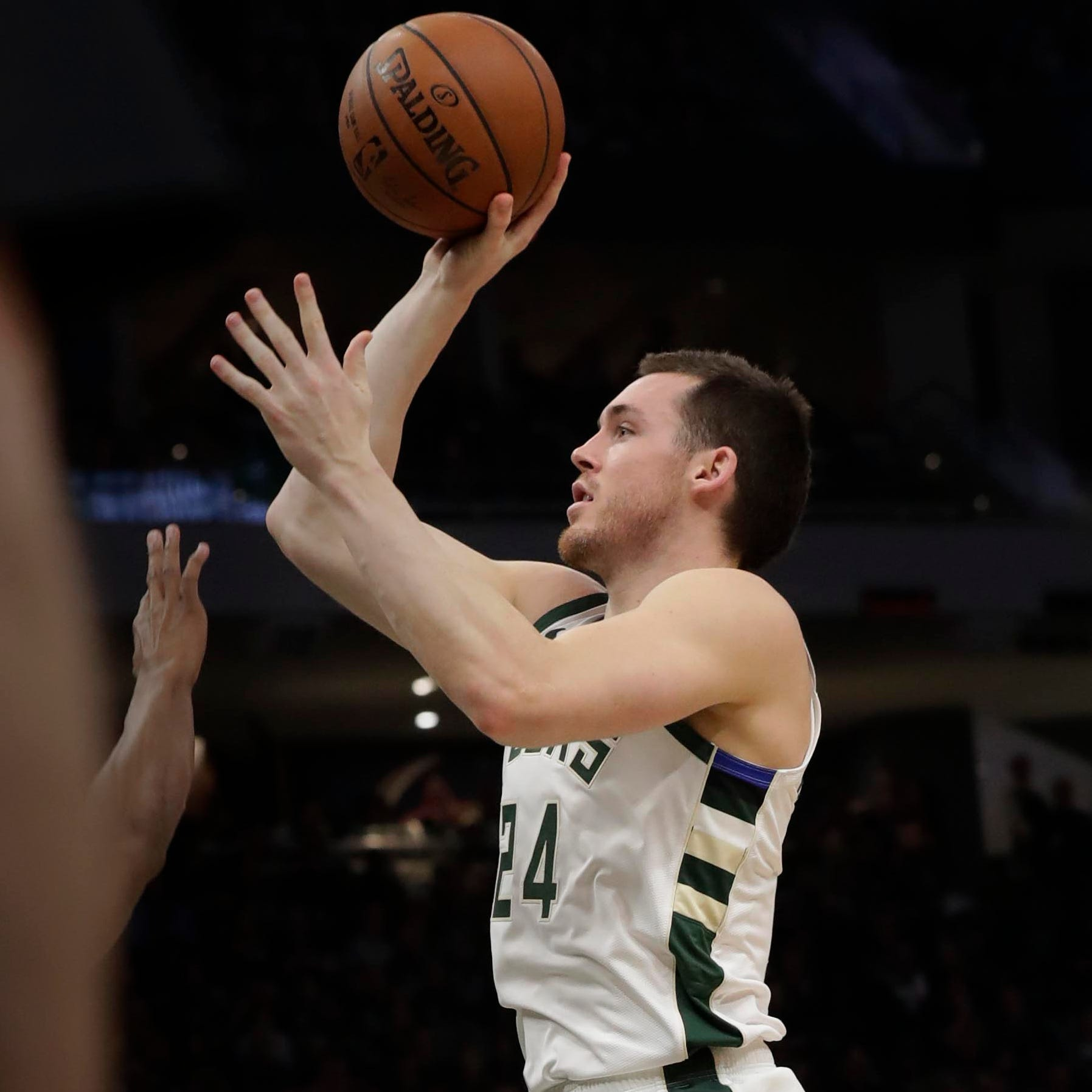 Bringing pop off the bench, Pat Connaughton is making an impact for the Bucks in the playoffs