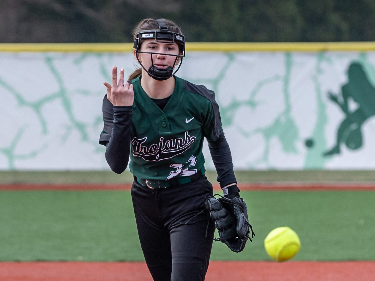 Wauwatosa West's Riley McAdams delivers a pitch during the game at home against DSHA on Wednesday, April 17, 2019.