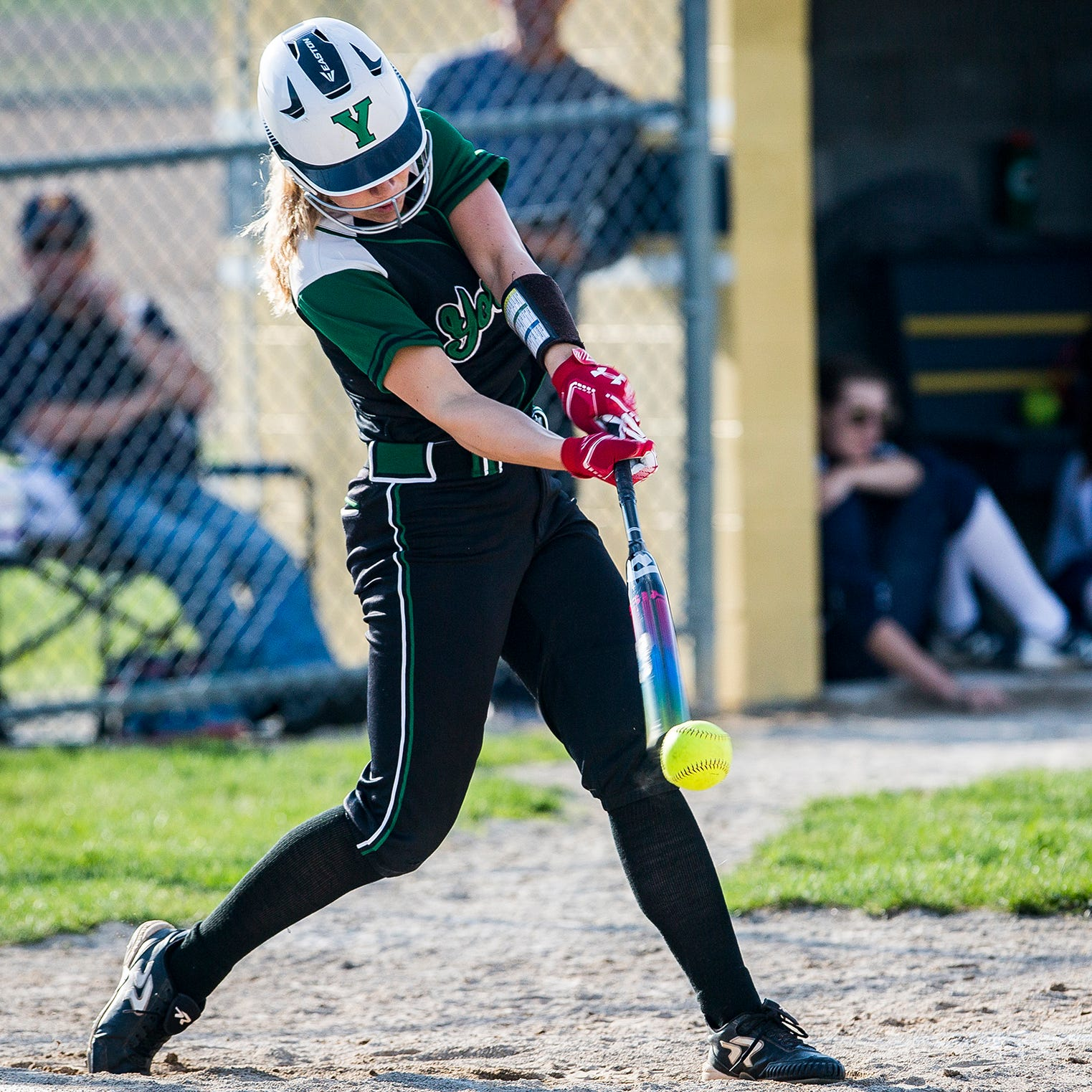 Yorktown softball's bats are carrying the Tigers toward another sectional title