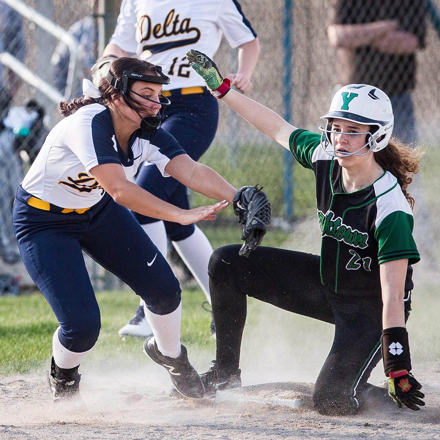 HS rundown: Wednesday's top performers include Yorktown and Delta softball