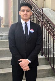 Kevin Carreno is a young progressive running against an incumbent city council member and newspaper publisher in Winchester.