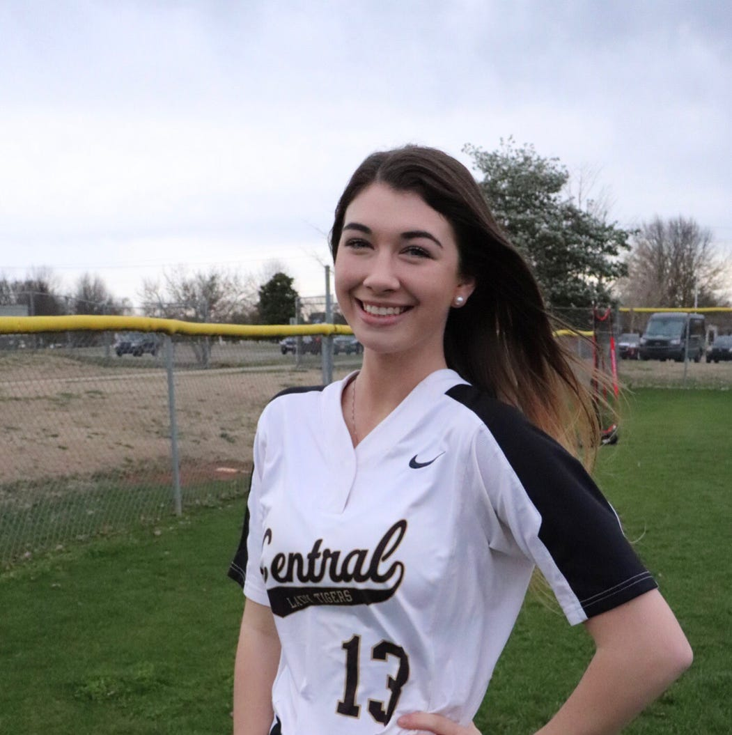Central Magnet's Kali Penny voted area girls athlete of the week for April 8-13