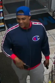 Suspect in an April 18, 2019 shooting at a Nashville gas station.