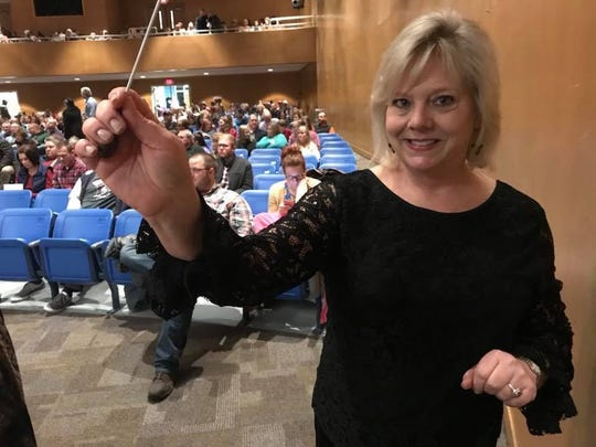 Carole Smith Grooms, who has taught music at Freedom Middle School for 28 years, has been nameda CMA Foundation Music Teacher of Excellence.
