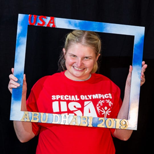 Taegan Martin was the only athlete from Tennessee to compete in the Special Olympics World Games last month.
