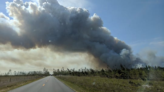 Firefighters battled a 669-acre fire in eastern Bay County on March 30. While the first three months of the 2019 wildfire season were slow, fire officials are worried about fires in the Panhandle communities hit by Hurricane Michael last year.