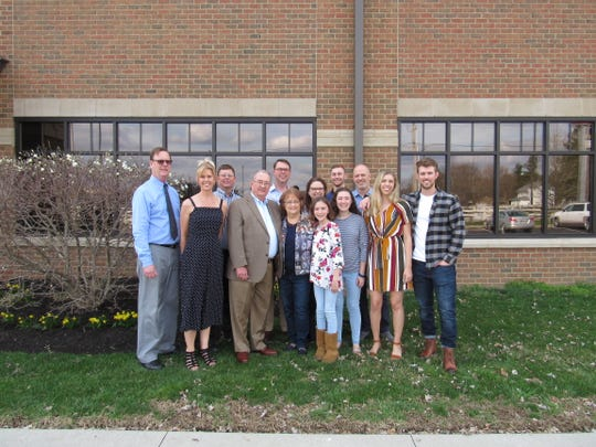 On April 6, Thomas M. Lawyer's family gathered to celebrate his 80th birthday and retirement with a party.