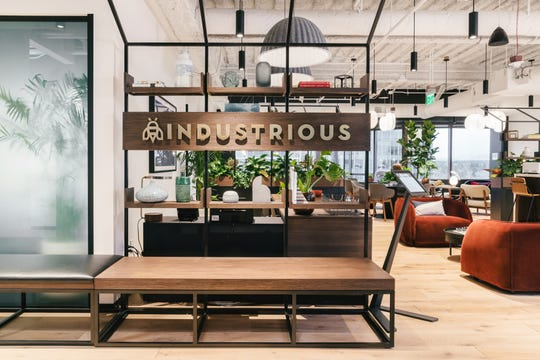 Industrious, a flexible workspace provider in the United States, is opening its first New Jersey outpost inside The Mall at Short Hills. It will take 30,000 square-feet in the former Saks Fifth Avenue. This location, pictured in Bellevue, Washington, is more than 65 locations the company has already opened in 40 cities.