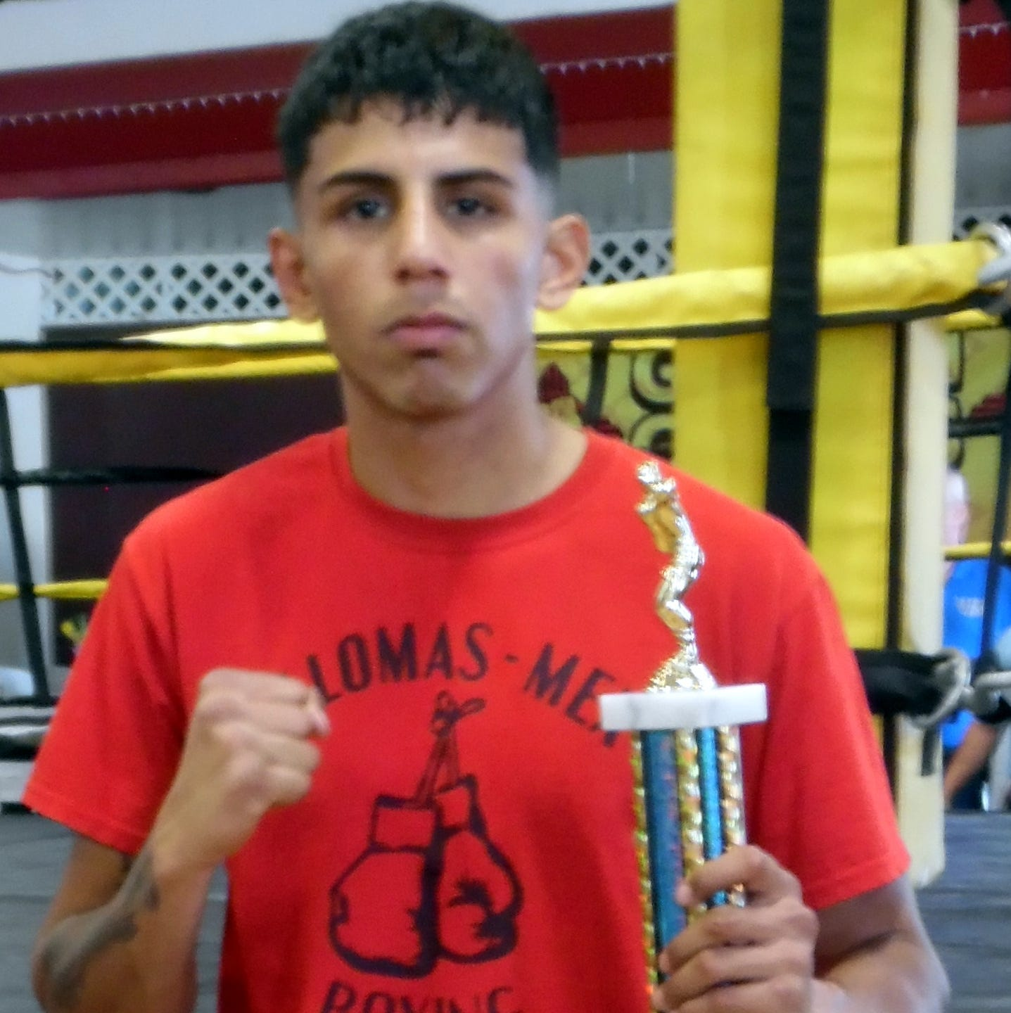 Columbus, New Mexico has a Golden Gloves boxing champion