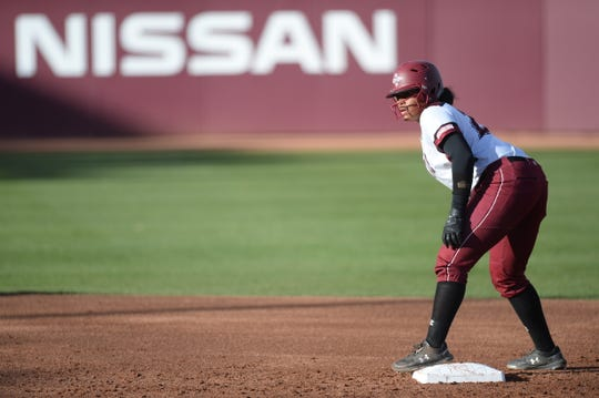 The New Mexico State softball team hosts Grand Canyon in WAC series this weekend.