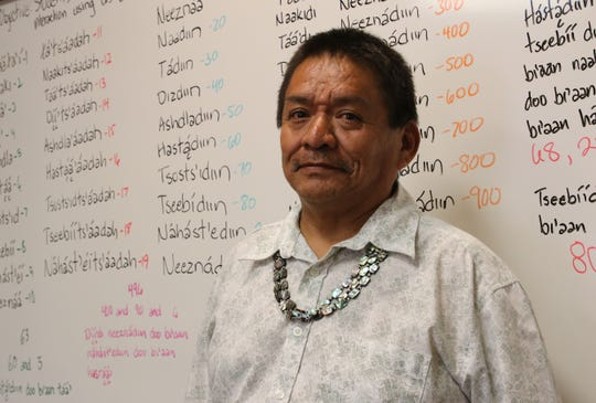 Joseph Chee, a bilingual teacher at Career Prep High School in Shiprock, was named Teacher of the Year for Region 2 by the National Johnson-O'Malley Association.
