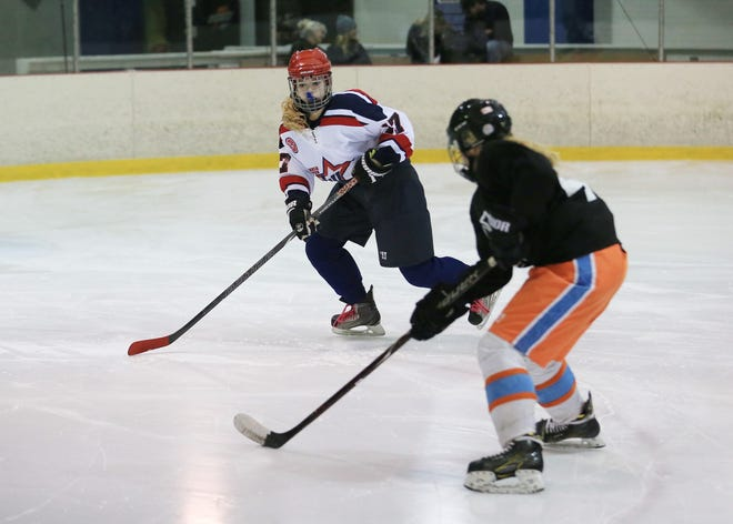 The Livonia United girls hockey team is entering its third season.