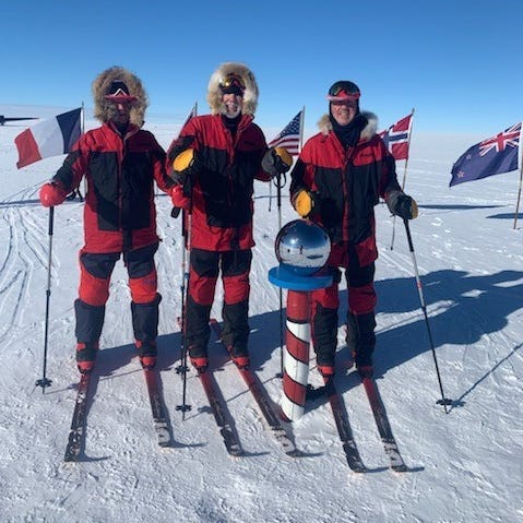 South Pole: Birmingham friends complete rare feat — a journey to the bottom of the Earth