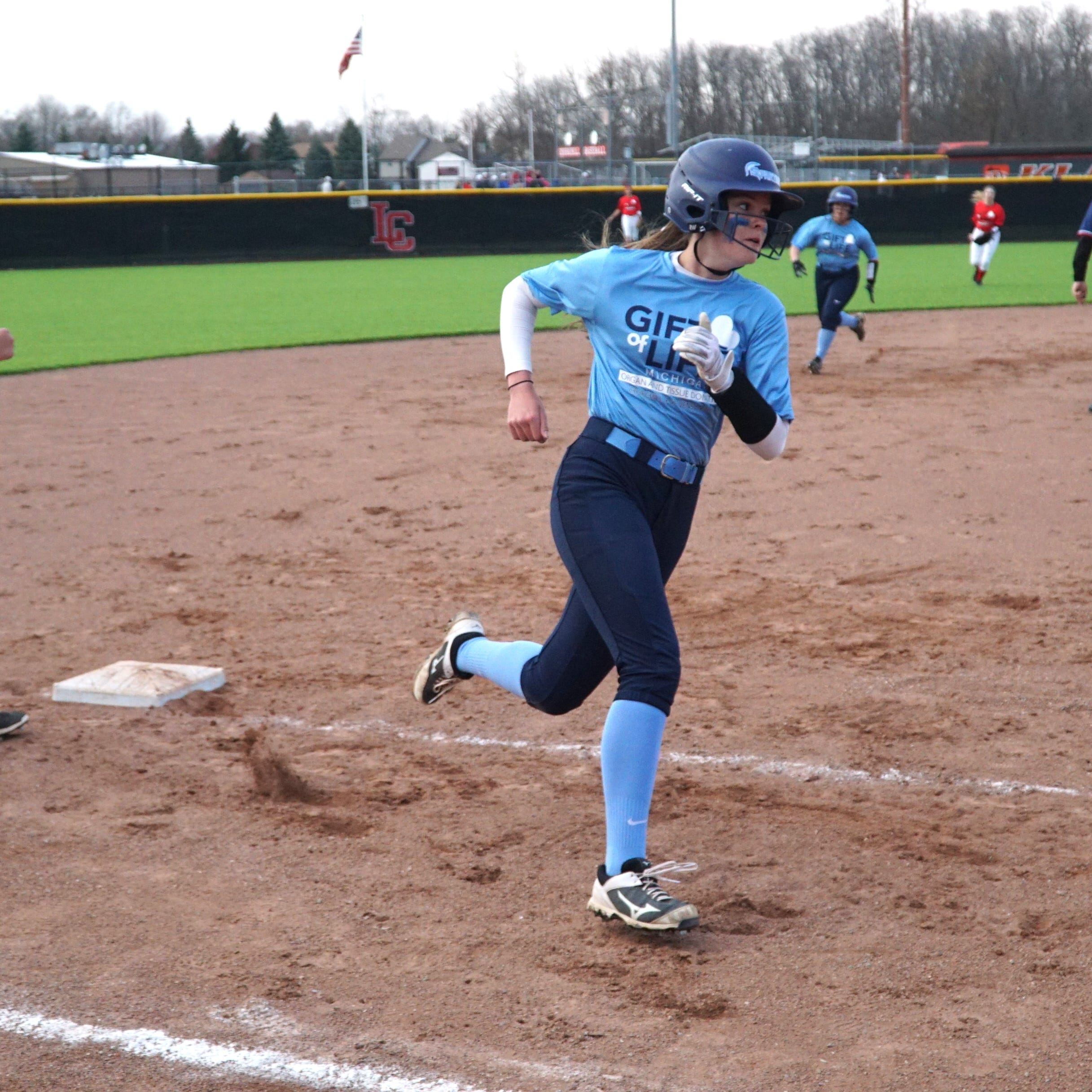Livonia Stevenson softball blows out Churchill in successful charity game