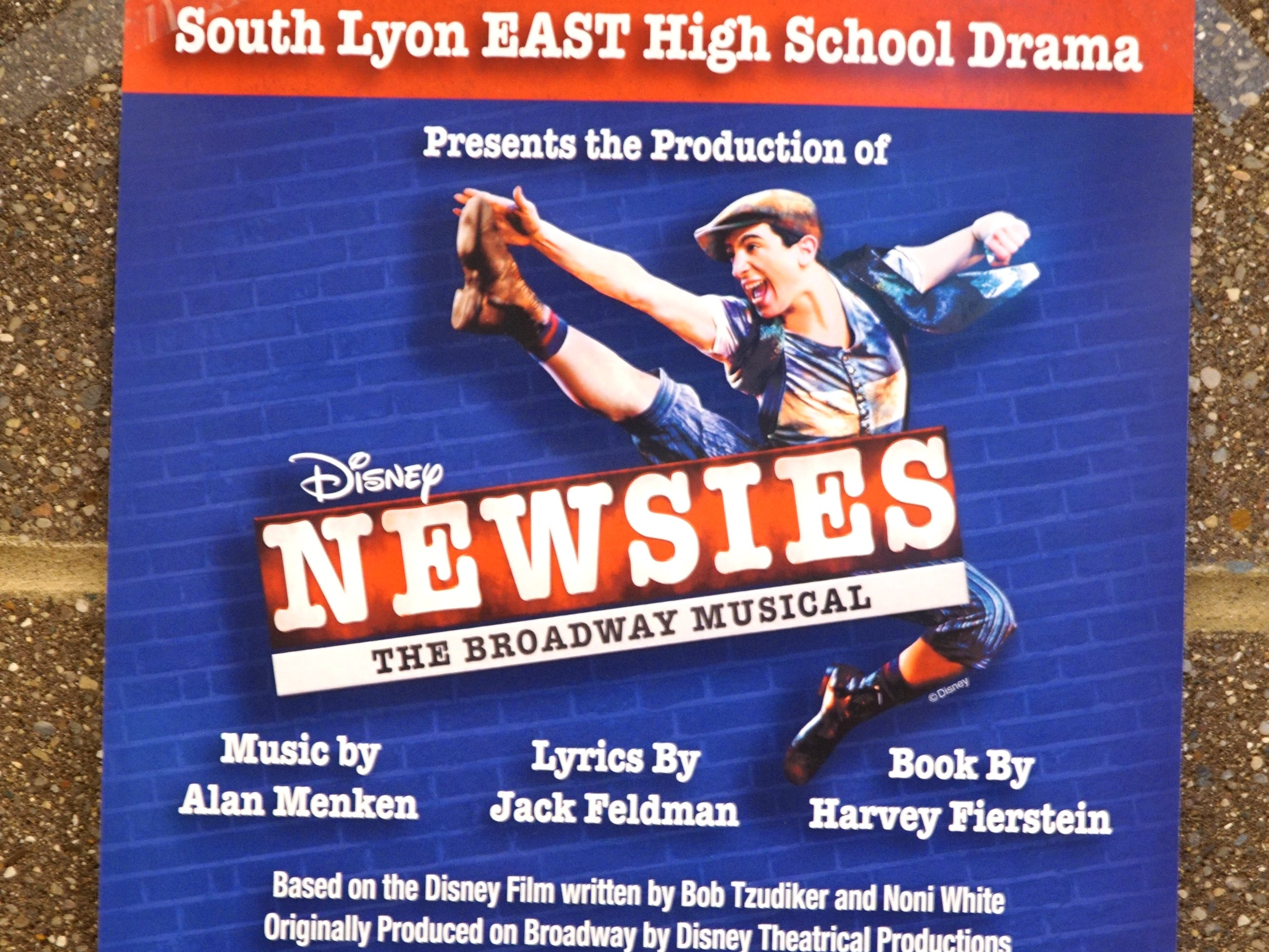 South Lyon High East's production of Newsies will take place on April 25-28 at the Ten Mile Road school.