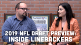 Ryan Wood and Olivia Reiner discuss the Packers' interest in selecting an inside linebacker in the draft and where they might do so.