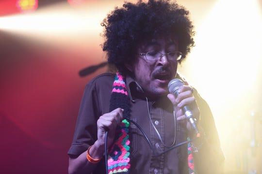 Cola Boyy performs at Chella, Indio, Calif., April, 17, 2019.