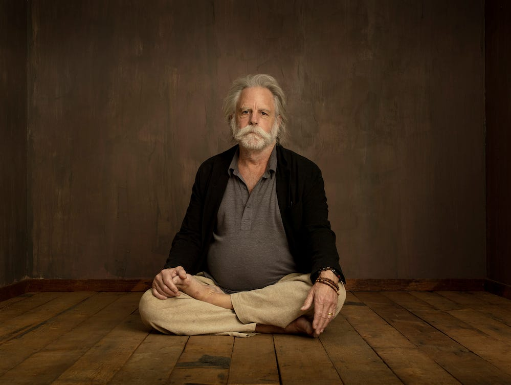 Bob Weir as photographed by Andrew Haagen in his portrait studio at the Coachella Valley Music and Arts Festival.