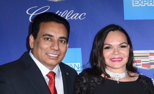 Nachhattar and Susana Chandi