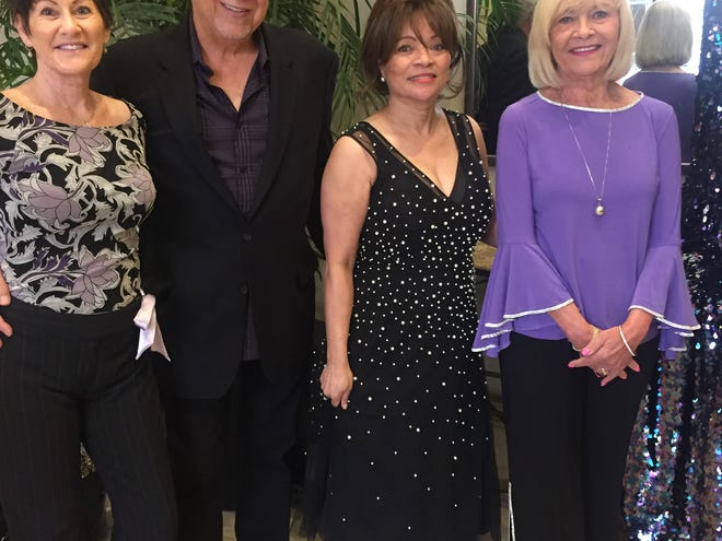 Sharon Richardson, left, Bobby Goldsboro, Margo Goldsboro and Bonnie O'Day.