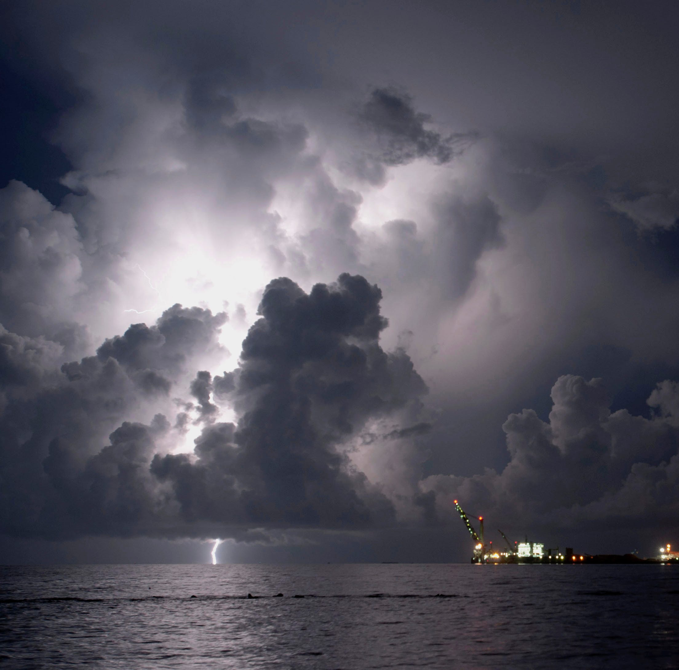 Severe thunderstorm warning issued for Escambia County