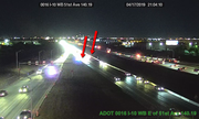 Interstate 10 was closed late Wednesday evening as Arizona Department of Public Safety and Phoenix Police investigated a collision.