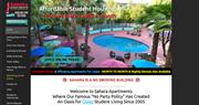 Sahara Apartments website