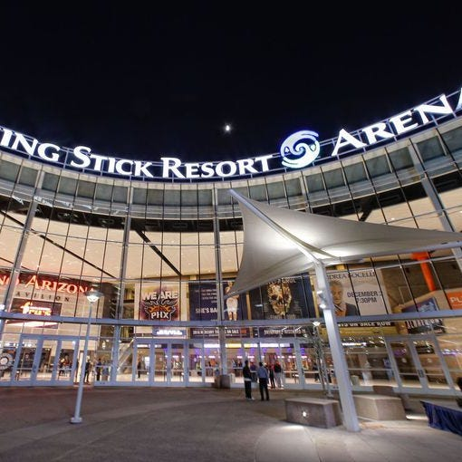 Suns in planning stages for practice facility and Talking Stick Resort Arena renovations