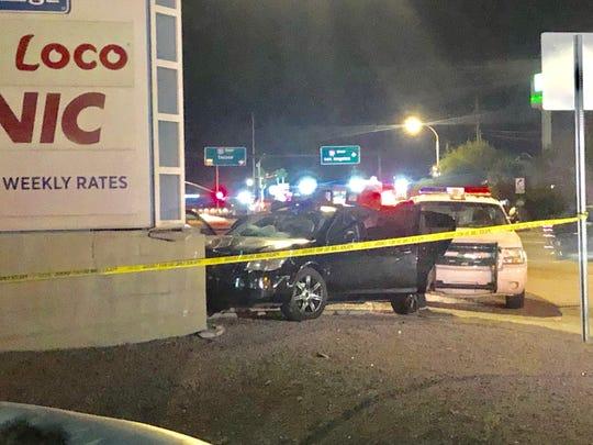 Phoenix police are investigating a crash near I-10 and 51st Avenue.
