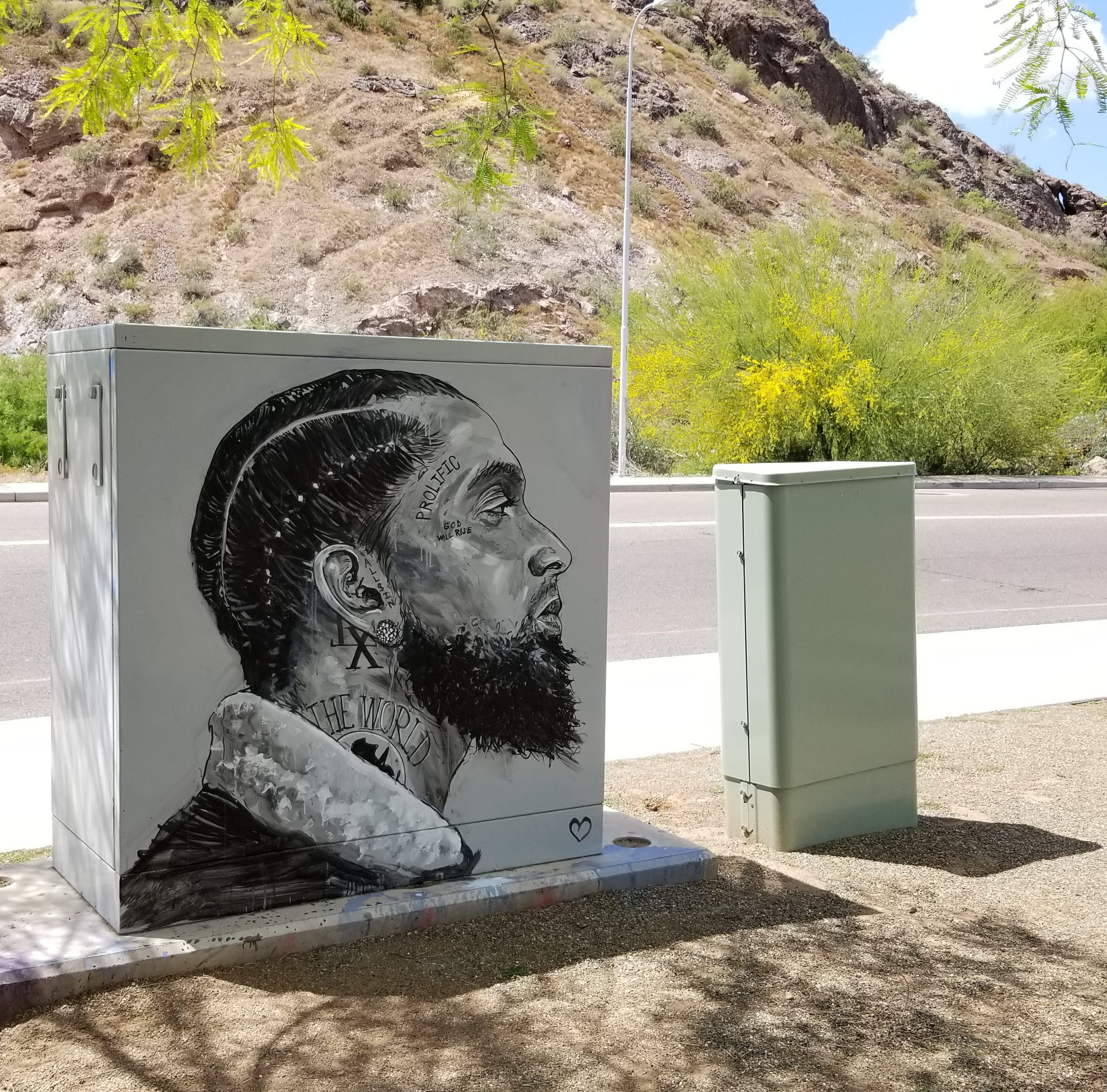 Nipsey Hussle honored in Tempe street art: Here's who is behind the mural and where to see it