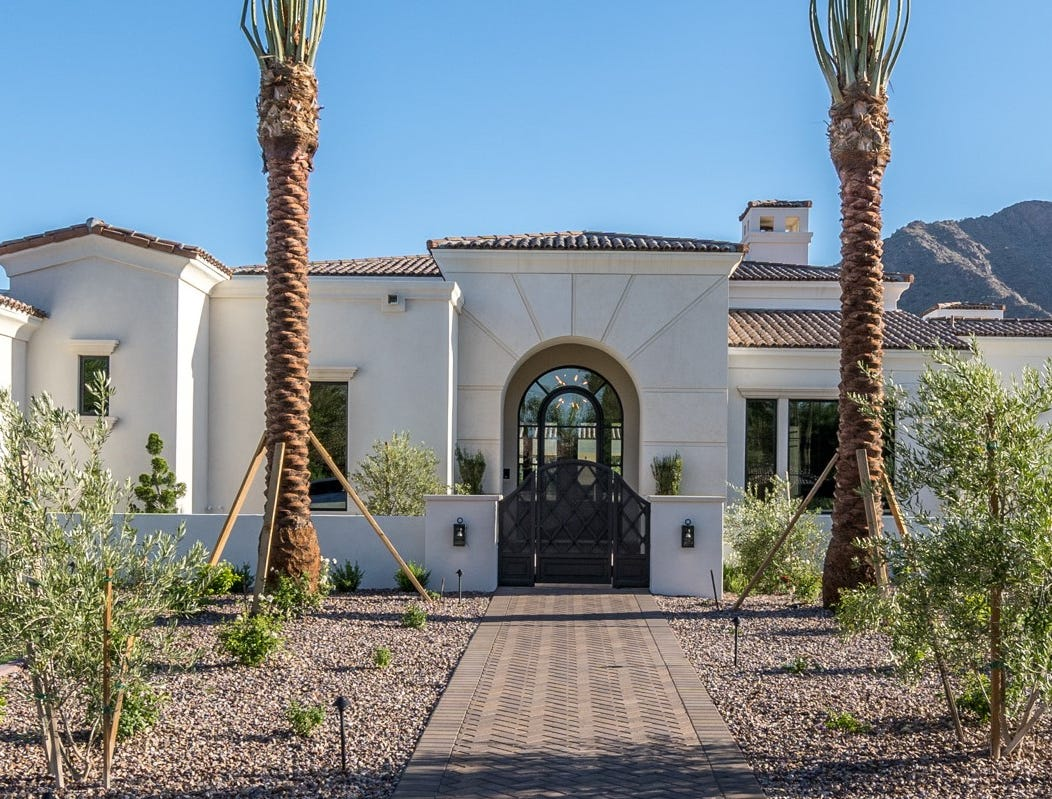 Kenneth H. Black purchased this mansion in Paradise Valley for $4.21M.