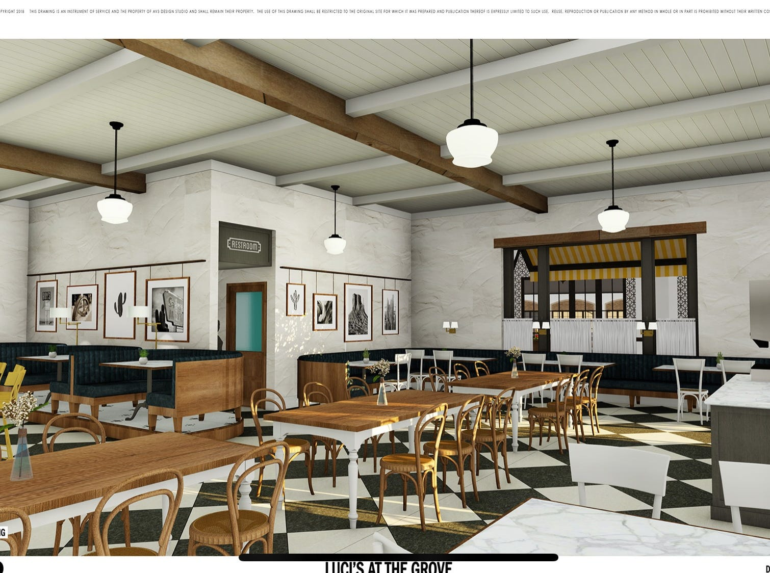 Luci's at the Grove will open at McCormick Ranch in Scottsdale in 2019.
