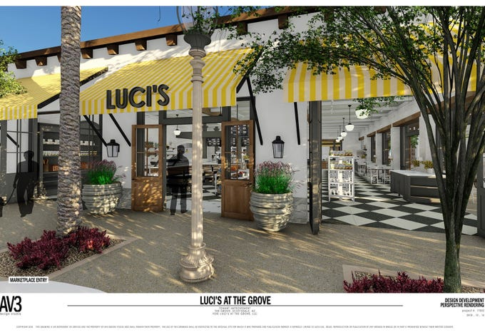 Luci&#39;s at the Grove will open at McCormick Ranch in Scottsdale in 2019.<br /> &nbsp;