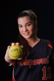 Chaparral pitcher Hannah Ross