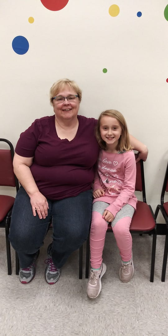 Addy Calnon has developed a close friendship with Forge Elementary School  nurse Judith Robinson.
