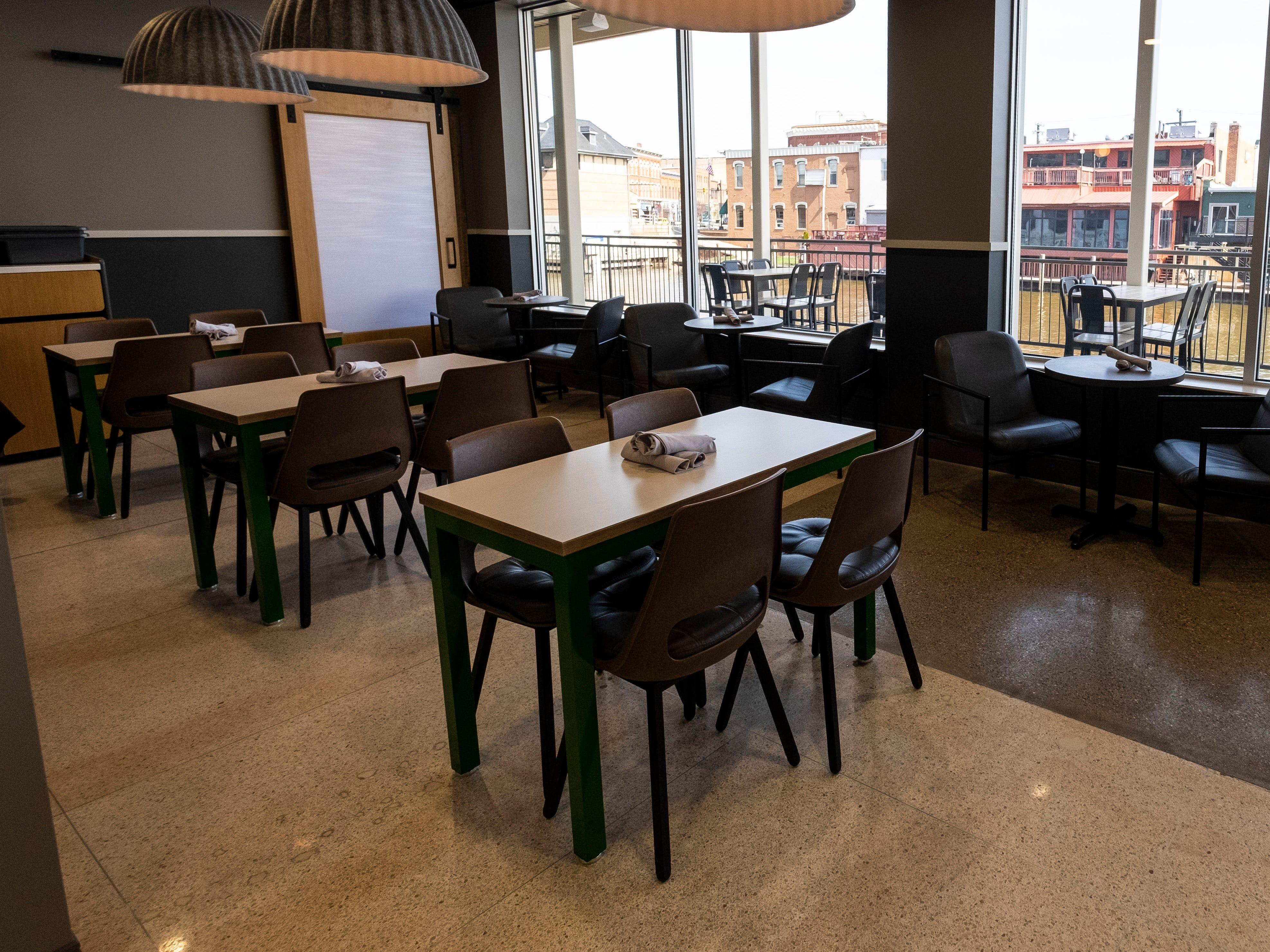 TheKitchen opened inside CityFlats Hotel last fall.