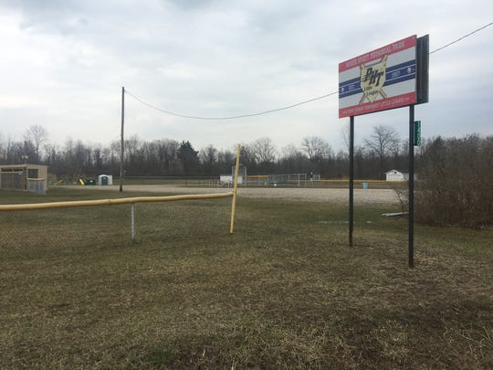 Port Huron Township is selling a small piece of land off the local Little League fields on Michigan Road.